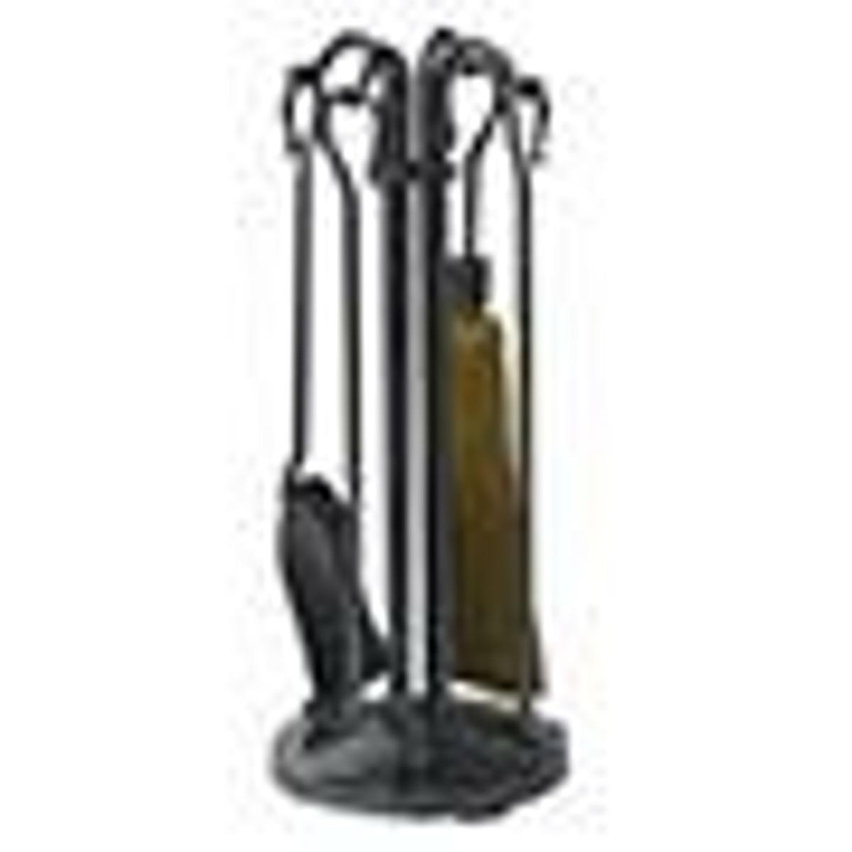 Black Fireplace Tool Sets
