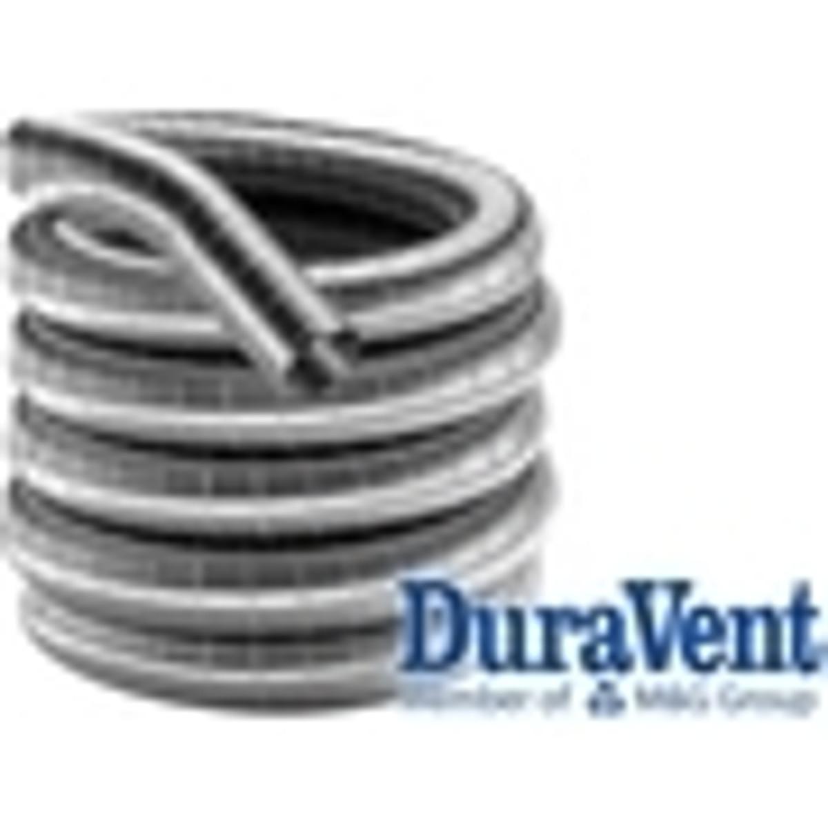 4'' DuraFlex Aluminum Gas Chimney Liner