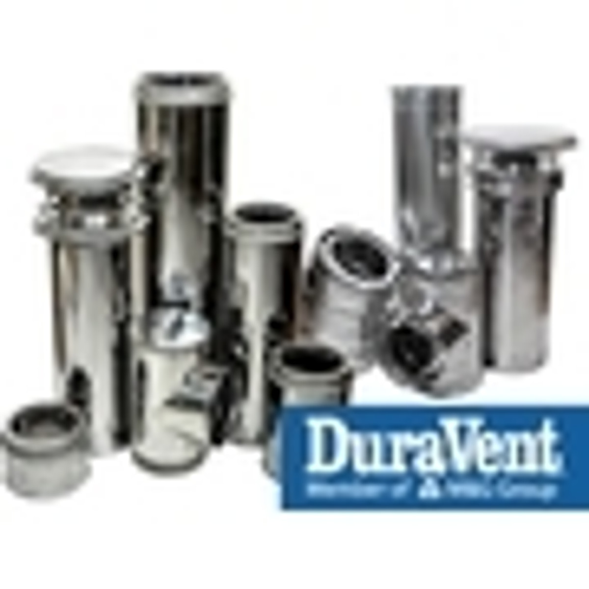 16'' DuraTech Chimney Pipe