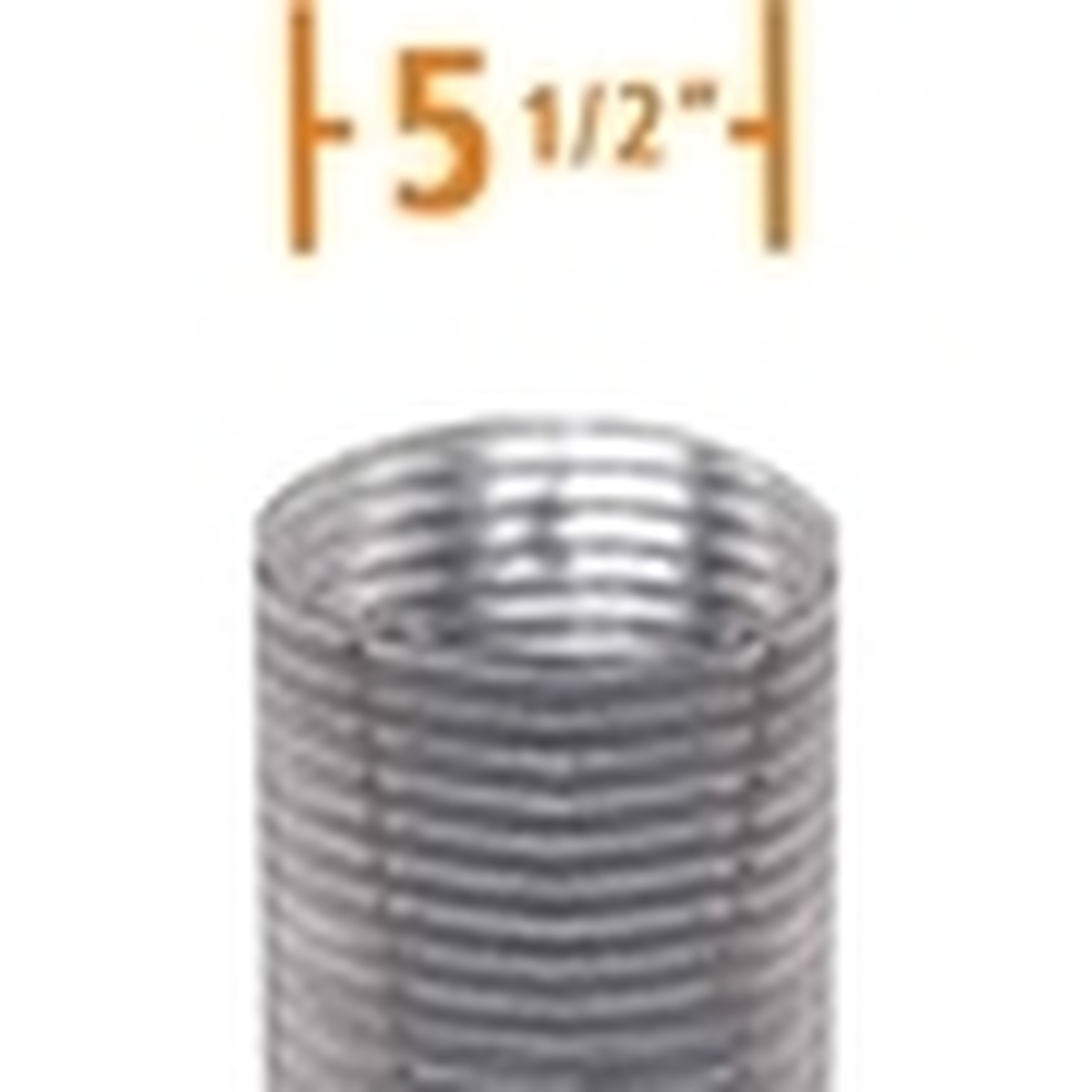 5.5'' DuraFlex Aluminum Chimney Liner
