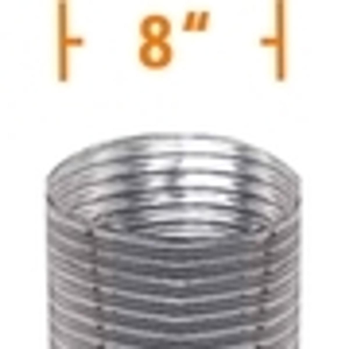 8'' DuraFlex Stainless Steel Chimney Liner