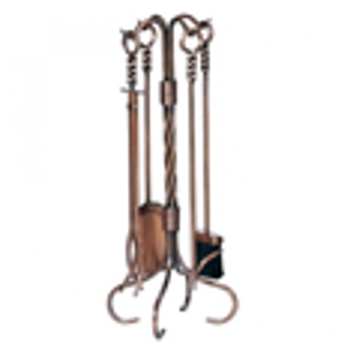 Copper Fireplace Tool Sets