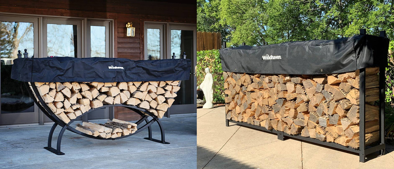 10% off log racks!