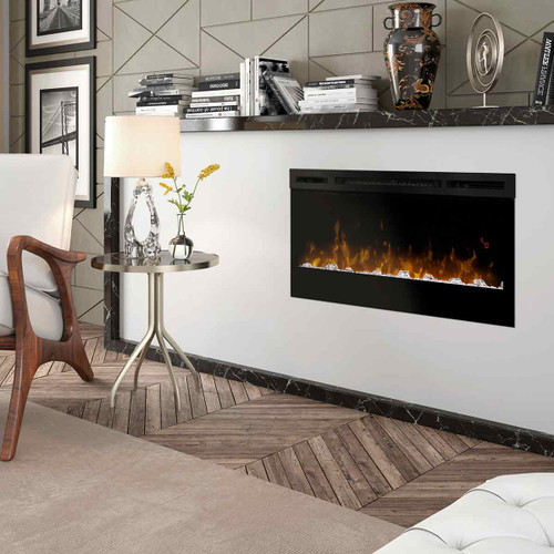"34"" Prism Series Wall Mount Linear Electric Fireplace"