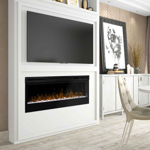 """50"""" Prism Series Wall Mount Linear Electric Fireplace"""