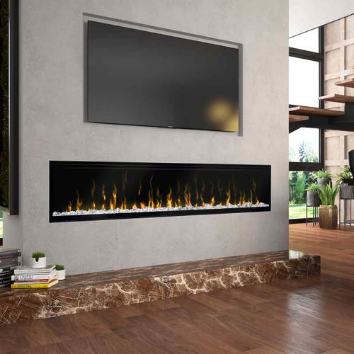 """74"""" IgniteXL Linear Electric Fireplace"""