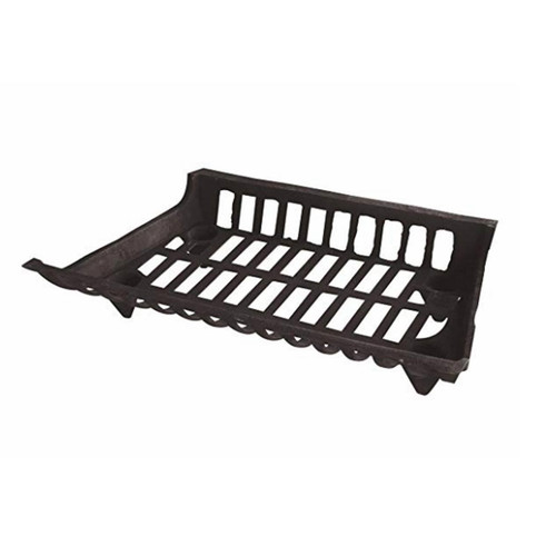 24'' Cast Iron Fireplace Grate - C-1533