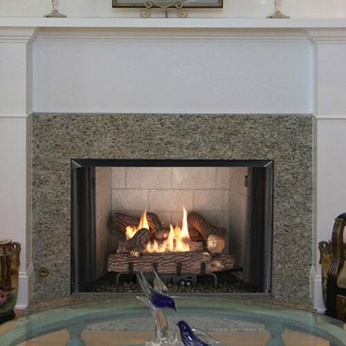 "Superior 42"" VRT2500 Series Vent-Free Clean Face Fireplace"