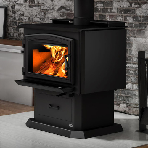 Osburn 2000 Metallic Black EPA Wood Stove with Blower
