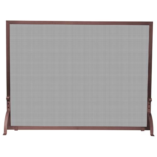 44'' x 33'' Single Panel Antique Copper