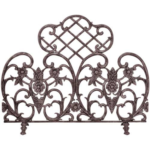 42'' x 33'' Single Panel Bronze Finish Cast Aluminum Screen