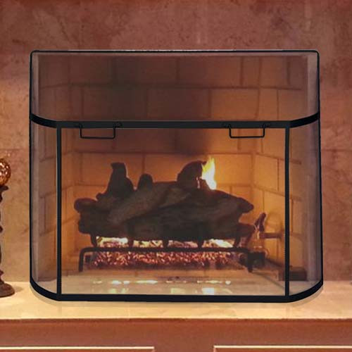 39'' x 31'' Olde World Curved Spark Guard