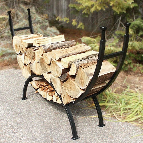 69'' Curved Log Rack