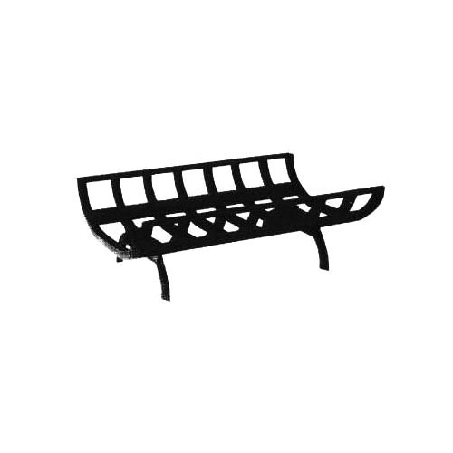 27'' Cast Iron Fireplace Grate - M-27