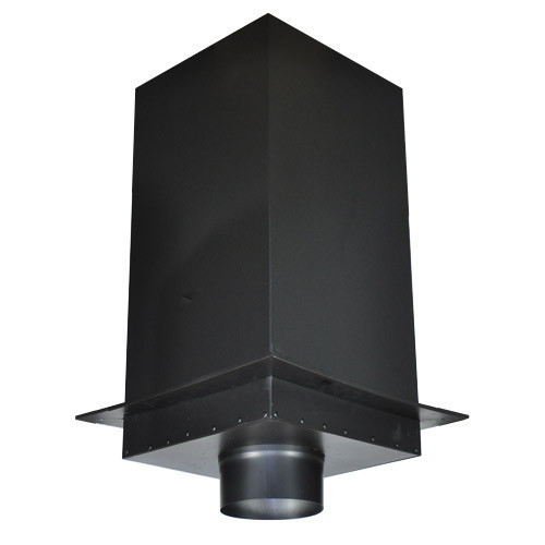 """Shasta Vent 6 Inch Ceiling Support Box  -  24"""""""" Height"""