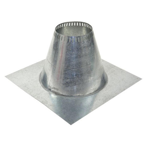 Shasta Vent 6 Inch Ventilated Roof Flashing - Flat - Less Than Perfect