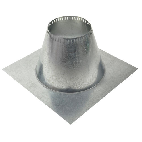 Shasta Vent 8 Inch Ventilated Roof Flashing - Flat