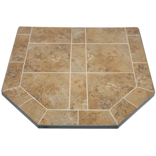 Amber Saffron 40'' x 40'' Double Cut Hearth Pad