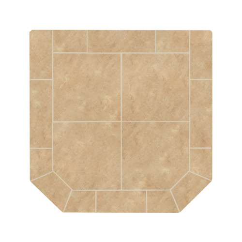 Desert Dunes 48'' x 48'' Double Cut Hearth Pad