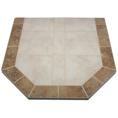 Sea Breeze 48'' x 48'' Double Cut Hearth Pad