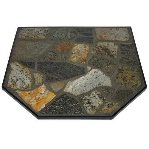 Imperial Mayan Stone 40'' x 40'' Double Cut Hearth Pad