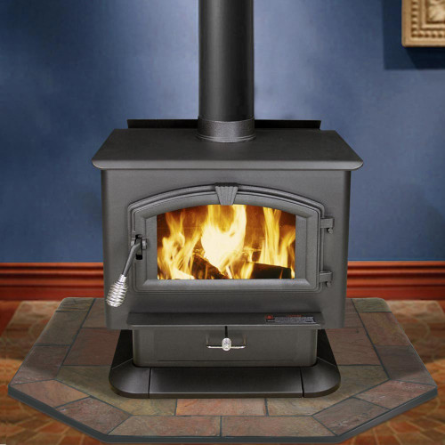 Natural Bone Slate 48'' x 48'' Double Cut Hearth Pad