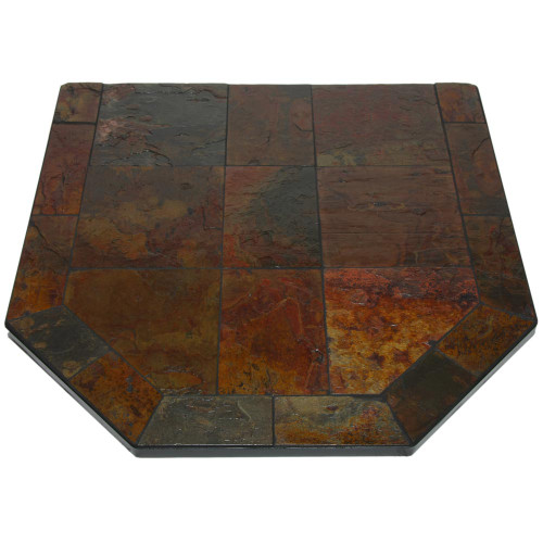 Persian Slate 40'' x 40'' Double Cut Hearth Pad