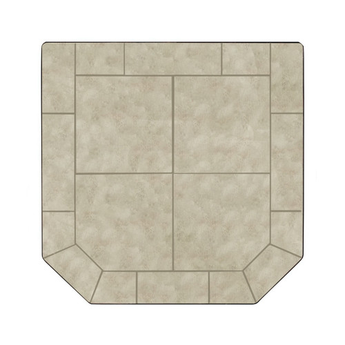 Winter Lush 48'' x 48'' Double Cut Hearth Pad