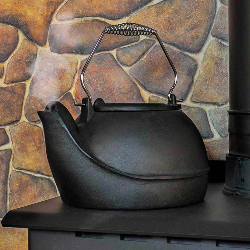 5 Quart Cast Iron Wood Stove Kettle