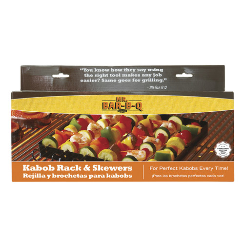 Mr. Bar-B-Q Kabob Rack & Skewers