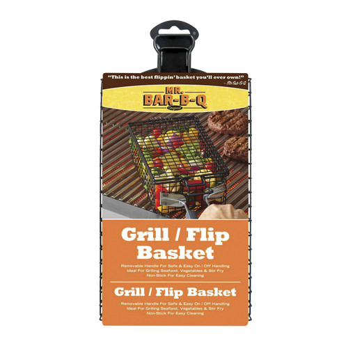 Mr. Bar-B-Q Grill/Flip Basket
