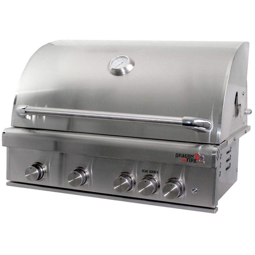 "Dragonfire 32"" Gas Grill Head - Natural Gas"