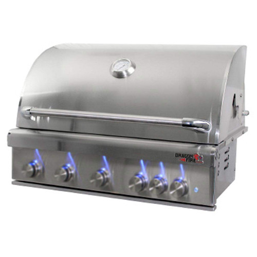 "Dragonfire 40"" Gas Grill Head - Natural Gas"