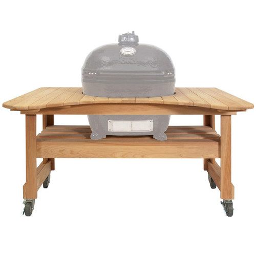 Cypress Table for Oval XL Primo Grill