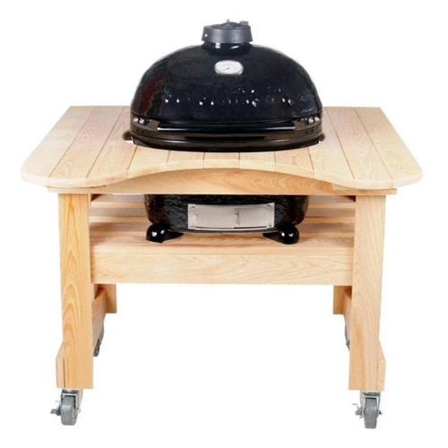 Cypress Compact Table for Oval Junior Primo Grill