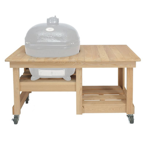 Cypress Counter Top Table for Oval LG 300 Primo Grills