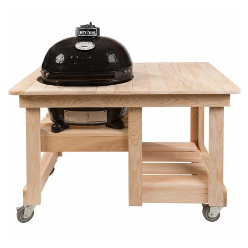 Cypress Counter Top Table for Oval JR 200 Primo Grills