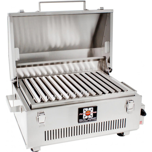 Solaire Anywhere Infrared Grill 304 Stainless Steel - SOL-IR17B