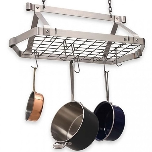 Decor Retro Rectangle Rack-Stainless Steel