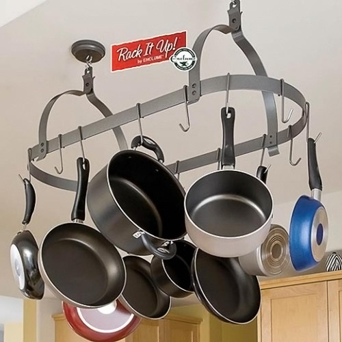 Rack it Up Oval Pot Rack