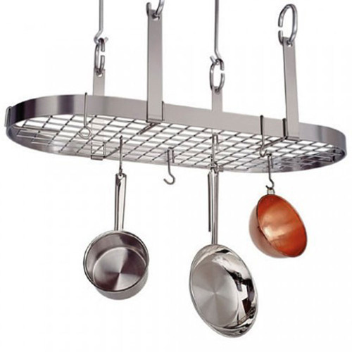 Four-Point Oval Rack-Stainless Steel