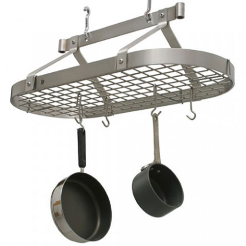 3' Oval Rack-Stainless Steel