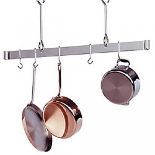 60'' Offset Hook Ceiling Bar Rack-Stainless steel