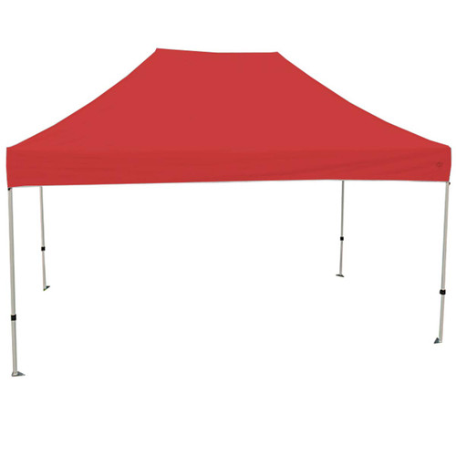King Canopy 10' x 15' Canopy with Red Cover