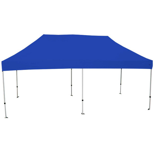 King Canopy 10' x 20' Canopy with Blue Cover