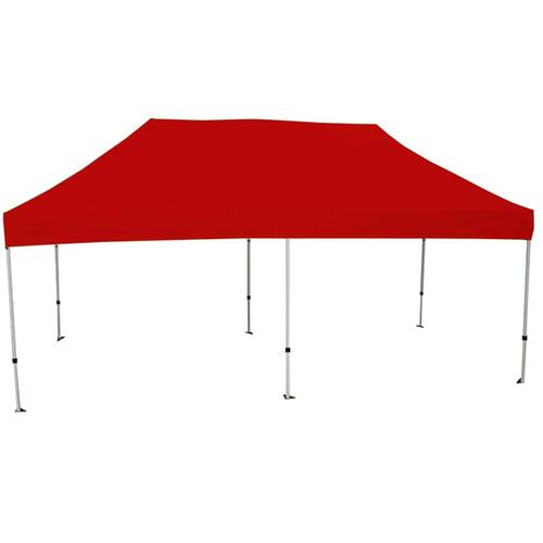 King Canopy 10' x 20' Canopy with Red Cover