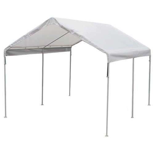 King Canopy 10' x 13' 6 Leg White Universal Canopy