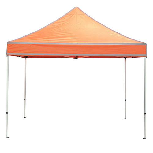 King Canopy 10' x 10' Canopy with Orange Cover