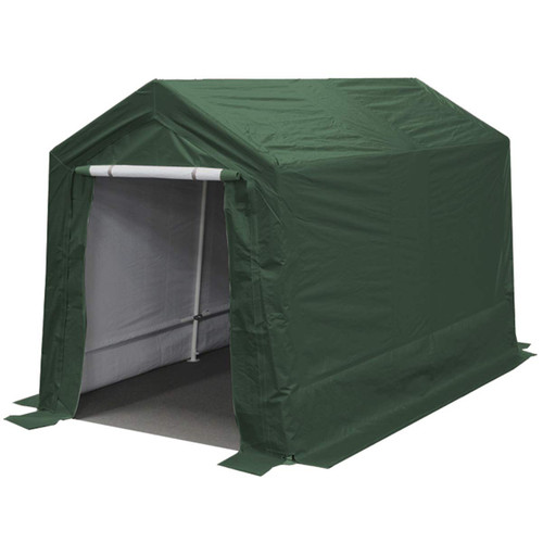 King Canopy 7' x 12' Green Storage Garage