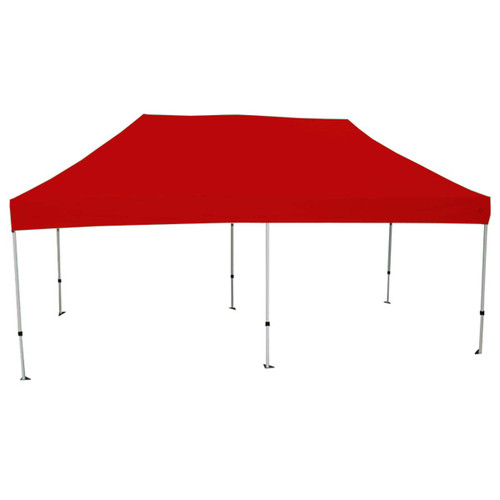 King Canopy 10' x 20' Red Cover Canopy